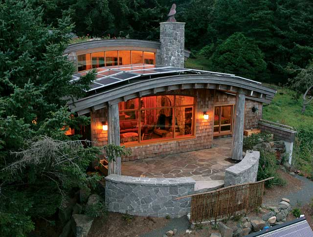 Excerpt Green Project Of The Year Custom Build Cannon Beach Cottage A 2 268 Square Foot Home Built On Northern Oregon Coast Took This